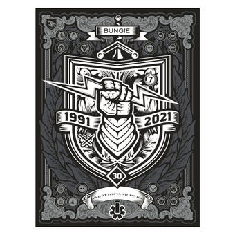 Bungie 30th Anniversary Poster