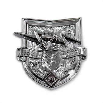 Bungie 30th Anniversary Shield Pin