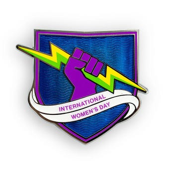 International Women's Day Collectible Pin
