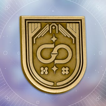 Bungie Rewards - Descendant Seal Collectible Medallion Pin