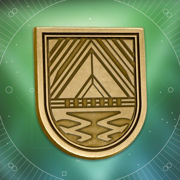 Bungie Rewards - Fatebreaker Seal Collectible Medallion Pin