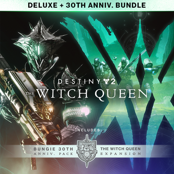 Destiny 2: The Witch Queen Deluxe Edition + Bungie 30th Anniversary Bundle (Steam Code For PC)